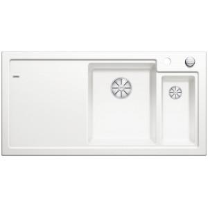 Кухненска мивка BLANCO AXON II 6S с дясно корито - цвят Кристално бял гланц