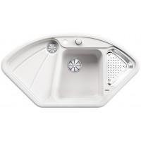 Кухненска мивка BLANCO DELTA - цвят Кристално бял гланц