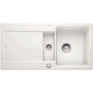 Кухненска мивка BLANCO IDENTO 6 S - цвят Кристално бял гланц