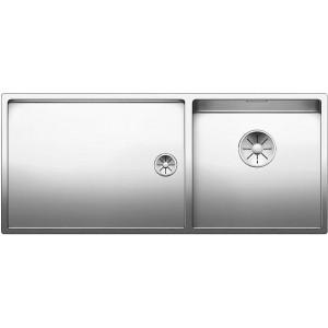 Кухненска мивка BLANCO CLARON 400/550-T-IF с дясно корито