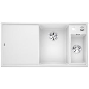 Кухненска мивка BLANCO AXIA III 6 S, дясно корито - цвят Бял