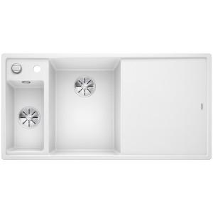 Кухненска мивка BLANCO AXIA III 6 S, ляво корито - цвят Бял