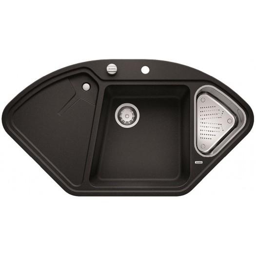 Кухненска мивка BLANCO DELTA II - цвят Антрацит ЕВРОСЕТ BLANCO от www.evroset.bg