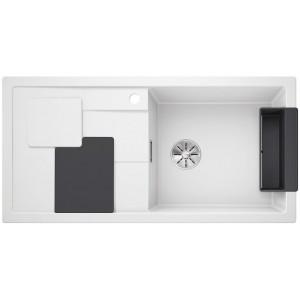 Кухненска мивка BLANCOSITY XL 6S - цвят Бял/ Сив