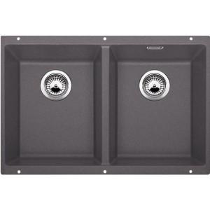 Кухненска мивка BLANCO SUBLINE 350/350-U - цвят Скалисто сив