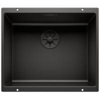Кухненска мивка BLANCO SUBLINE 500-U Black Edition - цвят Черен