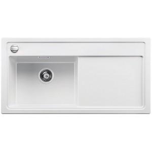Кухненска мивка BLANCO ZENAR XL 6S с ляво корито - цвят Бял