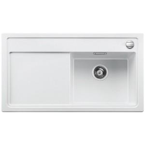 Кухненска мивка BLANCO ZENAR 5S с дясно корито - цвят Бял