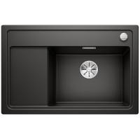 Кухненска мивка BLANCO ZENAR XL 6S Compact с дясно корито - цвят Черен