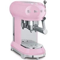 Еспресо кафемашина SMEG ECF01PKEU - цвят розов